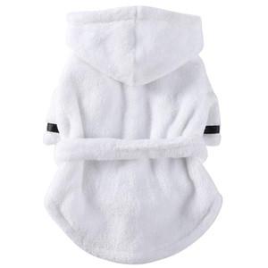애완 동물 개 목욕 가운 개 잠옷 잠자는 옷 소프트 애완 동물 목욕 건조 수건 수건 옷 강아지 고양이 용품 ·
