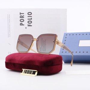 Lunettes de lunette de lunette d'été féminin mode extérieur vent soleil lunettes de soleil conduite lunettes de soleil dame gros cadres plage uv400 lunettes éblouissantes stop box original wx8