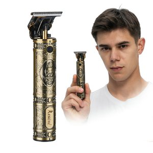 New Hair Clipeprs Close-cutting Digital Hairdresser Electric Hair Clipper Professional Barber Men Hair Trimmer Rechargeable with box