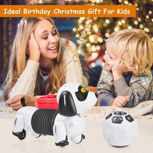 Smart Dachshund Robot Dog Toy Interactive Rechargeable Robot Puppy Toy Programming Function Christmas Gift