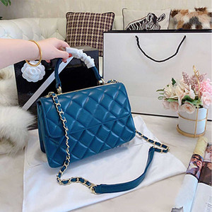 Genuine Leather Handbag Women New chain Shoulder luxurys designers Bag Diamond Lattice Classic Hot Sale Fashion Handbag Ladies Diagonal Bag