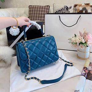 Genuine Leather Handbag Women New chain Shoulder luxurys designers Bag Diamond Lattice Classic Hot Sale Fashion Handbag Ladies Diagonal Bag