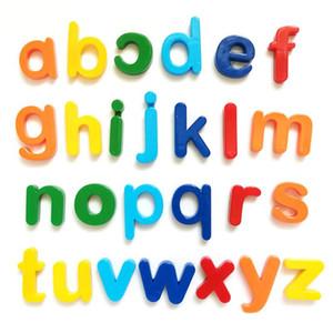 DHL Pädagogisches Spielzeug Magnetisches Lernen Alphabet Buchstaben Kunststoff Kühlschrank Aufkleber Kleinkinder Kinder Lernen Rechtschreibung Zählen 26 stücke