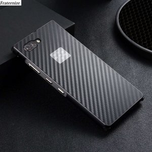 Key2 Aluminum Metal Case for Blackberry Key 2 Metal bumper Frame+Shockproof Plastic Carbon Fiber Phone Case Back Cover Coque
