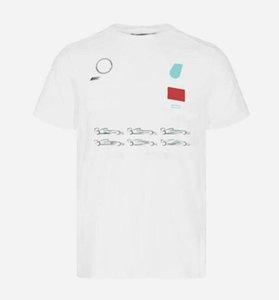 F1 Racing Ventilateurs Nouvelle vitesse universelle Seconde Summer Jersey Shirt Chemise Homme à manches courtes T-shirt Vélo Vélo Mountain Vélo Racing costume Customizat