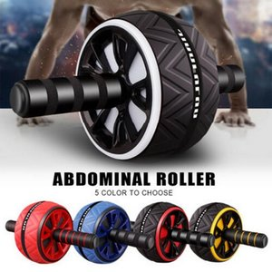 Training Equipment VERTVIE Abdominal Roller Exercise Wheel Fitness Mute For Arms Back Belly Core Body Shape Supplies