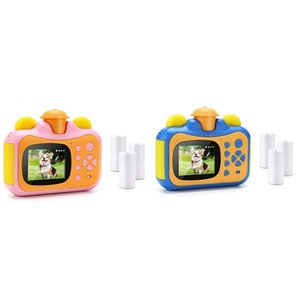 Digital Cameras Portable Instant Print Camera Toy With Paper Creative Birthday Gift For Kids