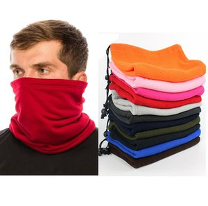 Winter men's and women's outdoor sports Bib riding mask multi-functional pulling rope fleece Neck condom