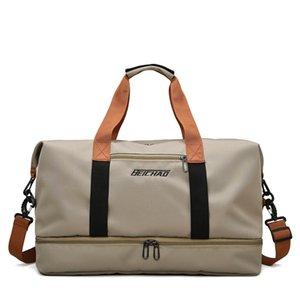 Fashion Travel Bag For Women Large Capacity Men's Sports Waterproof Weekend Sac Voyage Female Messenger Dry Wet Designer Bags Neverfull Crossbody Largest Handbags