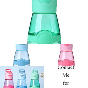 Colors 400ml Fans Water Bottle Outdoor Portable Sports Cup Travel Mug Summer Cool Fan Cups USB Charge Student Mug CCA11714 10pcs NZNG