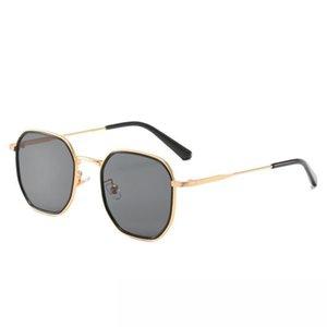 선글라스 2021 여성용 음영 안경 남성 드롭 빈티지 성인 스테인레스 스틸 UV400 유행