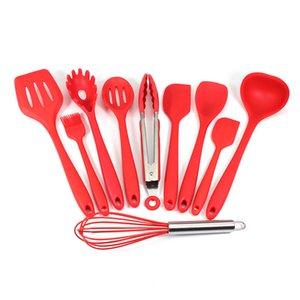 Cookware Parts Silicone Spatel Turner, Schuimspaan Pol Spatel Spooula insmeerborstel Kitchen equipment 1 Pcs J0705