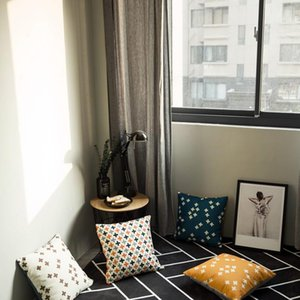 Cushion Decorative Pillow Home Decor Throw Case Nordic Moroccan Cotton Boho Cushion Cover 45x45cm Abstract Pillowcases For Livingroom Sofa B