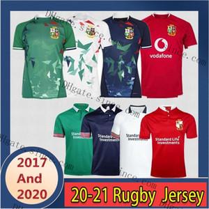 2017/2021 Lions britannica e irlandese Casa e via e allenamento Rugby Jersey Scotland Wales Galles di rugby Dimensioni: S-3XL
