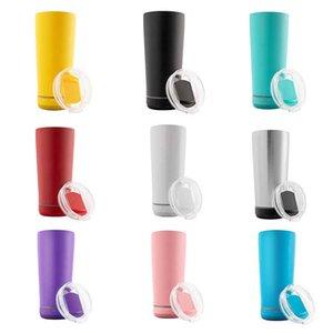 Acciaio in acciaio 11 colori in acciaio 18oz Sublimation Tazza di sublimazione Tumbler isolante con altoparlante Portatile Tumblers wireless