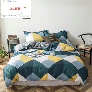 Bedding set 4pcs Comfortable bedding sets Home Textile set Fashion Duvet Cover Luxury King Bedroom sheet
