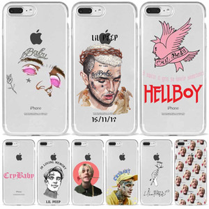 Lil Peep Lil Bo Peep CryBaby Soft Silicone TPU Phone Cover for iPhone 12 8 7S Plus X XS MAX SE 2020 XR 10 11 11pro 11promax