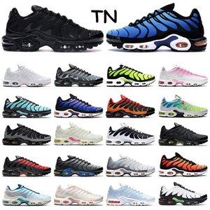 air max tn 2019 En kaliteli erkekler için koşu ayakkabıları üçlü beyaz siyah Volt Renk Çevirme HYPER CRIMSON moda Atletik spor sneakers eğitmenler boyutu 40-46