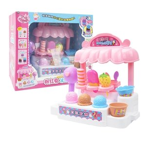 rabbit Simulation Play House KitchenPink simulation doctor house kitchen night market children's educational toysSnack Food CognitiveCooking