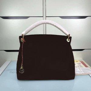 새로운 패션 여성의 핸드백 정품 가죽 어깨 가방 40249 높은 품질의 먼지 가방 지갑 무료 배송 195