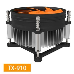Fans & Coolings Cooling CPU Cooler Fan 3pin For Intel LGA 1150 1151 1155 1156 775 1200 AMD AM3 AM4 Quiet Ventilador Silent Radiator