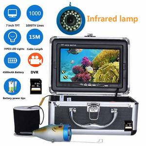 GAMWATER HD 15M 30M 1000TVL Underwater Fishing Camera Video Recorder DVR 7