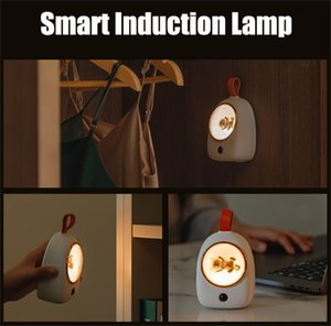 Smart LED Induction Lamps Baby Eye Protection Lamp Night Light for Toilet Wardrobe Cabinet Wall Sensor Lights