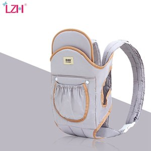 LZH New Ergonomic Infant Baby Carriers Sling Front Hug Waist Stool Kangaroo Baby Wrap Carrier for Baby Travel 0-36 Months 210305
