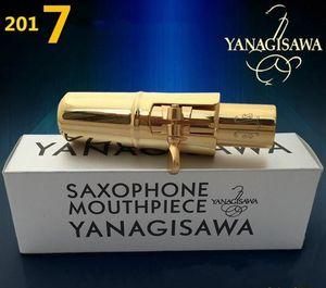 High-quality Woodwind Accessories original version Yanagisawa saxophone metal mouthpiece alto ,Soprano   tenor mouthpieceNO5-9