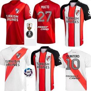 2021 2022 Longe River Plate Soccer Jersey 21 22 de la Cruz Quintero Borre Fernandez Pratto Ponzio Camisas de futebol Encontre Semelhante