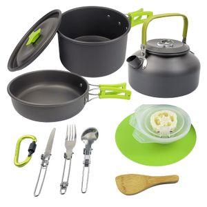 Outdoor supplies camping set pot cookware combination