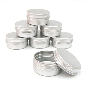 12 x 50ml Aluminium Make up Pots 50ml Capacity Empty Small Cosmetic Candle Spice Pots Tins Jars