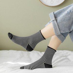 Japonés Harajuku Style Streep Kawaii Socks Women Herf Summer Pink Socks Cato For Ladies 120601on Venta