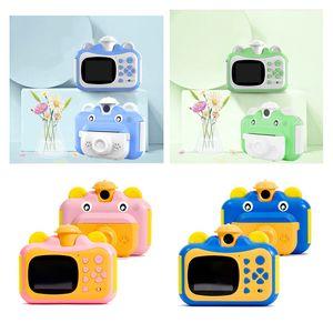 New 1080P Digital Photo Video Camera 2.4 Inch IPS Screen Children Mini Camera For Kids Instant Print Birthday Gift