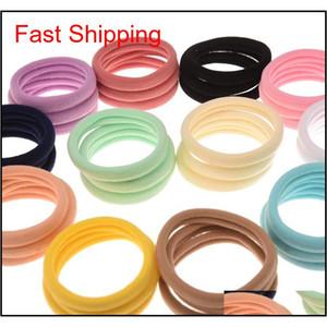 Free Shipping 5cm Diameter Nylon Hair Tie 1cm Yoga Tie Elastic Hair Band Fashion Accessories Boutique Ha jllioH bdesybag