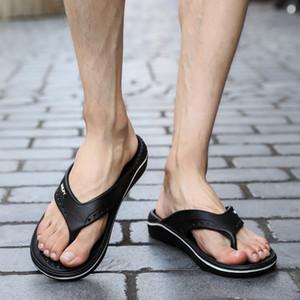 CcharmiX Massage Slipper Male Beach Travel Slippers Shoes Men Summer Non-slip Swimming Flip Flops Mens House Shoes Large Size 45 210226