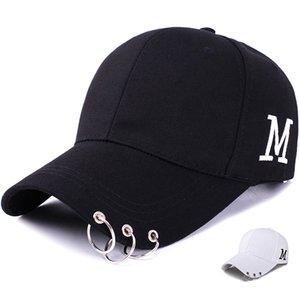 2020 diseñador de alta calidad de alta calidad Sombrero de béisbol ajustable con ring deportes tapa de sol mujeres moda snapback sombrero