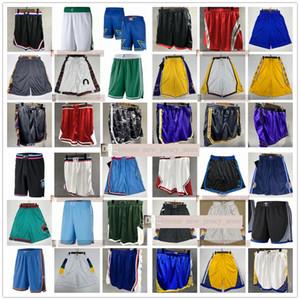 Printed Pocket Basketball Shorts Top Quality 2021 New Man White Green Pocket Printed Basketball Shorts Size S M L XL XXL