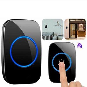 Doorbells Home Wireless Doorbell Chime Waterproof Plugin Receiver Adjustable Volume 1000FT Kit Smart Door Bell Set