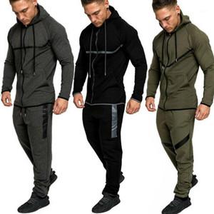 2020 en Trainingsanzug Hoodie Jacke Pullover Anzug Set Hosen Hosen Jogging Gym Sport Training Trainingsets1