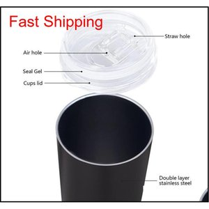 Dhl Ship Diy Blank 20oz Sublimation Skinny Tumbler Double Wall Stainless Steel Vacuum Insulated Water Mugs S jllVLC allguy