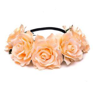 Palavras-chave cor-de-rosa flor wedding cocar flores mulheres faixa de cabelo estúdio estúdio estúdio flor flor coroa