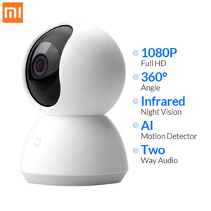 Xiaomi Mijia Mini Caméra IP WIFI 1080P HD Infrarouge Night Vision Nuit à 360 degrés Wi-Fi sans fil Wi-Fi WebCam Smart Home Security Camera