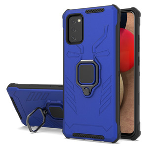 Armor 360 magnetic suction car bracket phone case for LG Stylo 7 samsung S21 S21 plus S21 Ultra pc with kickstand oppbag
