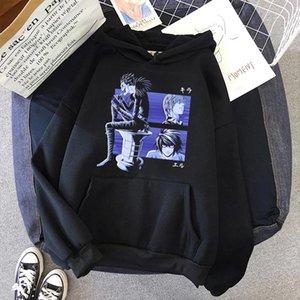 Oversized hoodie Death Note Kawaii dropshipping harajuku y2k Top undefined kpop Long sleeve kawaii clothes Women's sweatshirt