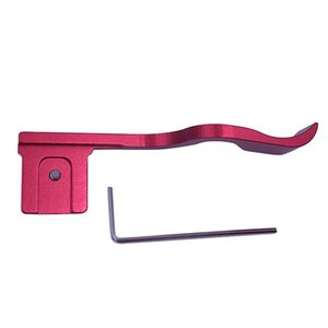 Red Metal Hot Shoe Thumb-Up Thumb Grip for Z6 Z7