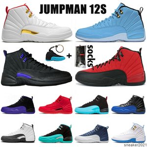 2021 Newest Womens Mens New Arrival Basketball Shoes 12s 12 Designers University Gold Trainers Sports Sneakers Big Size Eur 47