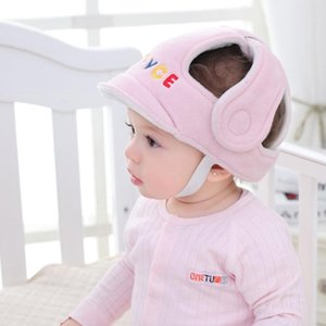 Boys Girls Infant Head Protector Anti Crash Protective Cap Headguard With Adjustable Strap Toddlers Safety Helmet Soft For Baby