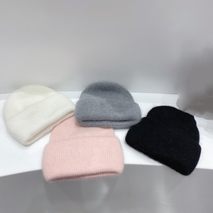 2021 Fashion Designer Woolen Hats Knitted Hats Top Quality 4 Color Woolen Yarn Winter Warm Women Casual Hat
