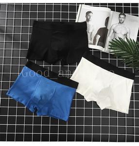 Moda iç çamaşırı dört mevsim erkek erkek pamuk boksör külot rahat nefes ter-emici iç çamaşırı